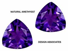 AFRICAN AMETHYST TRILLION CUT 10  MM ALL NATURAL