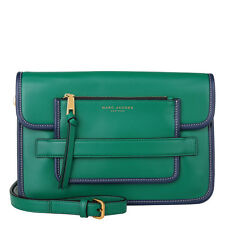 Marc Jacobs Emerald Green Madison Large Leather Shoulder Bag $495 MSRP