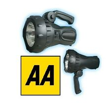AA LED 2 Million Candle Power Handle Torch Rechargeable Lantern Spotlight 723415