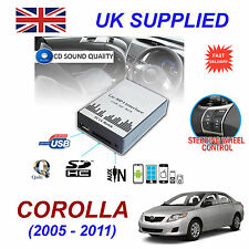 Toyota COROLLA MP3 SD USB CD AUX Input Audio Adapter Digital CD Changer Module