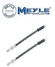 Set of 2 Rear BMW E39 540i M5 525i Brake Hydraulic Hoses Meyle 34301165190MY