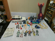 The Real Ghostbusters Lot of Figures & Extras/Ghost Trap/ECTO-1/Grab-A-Meter