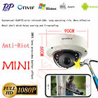 Vandal proof MINI 1080P IP Dome Camera Onvif 12IR Security CCTV Network P2P IP66
