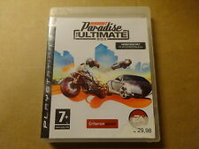 PS3 GAME / BURNOUT PARADISE - THE ULTIMATE BOX (PLAYSTATION)