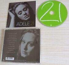 CD ALBUM 21 - ADELE VERSION 11 TITRES 2011