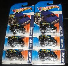 2011 Hot Wheels CITY WORKS #175 ∞ COOL-ONE ∞ LOT OF 6 TACTICAL RESCUE