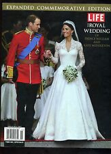 LIFE THE ROYAL WEDDING of PRINCE WILLIAM  KATE MIDDLETON Commerative Edition '11