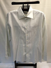 Mario Tomei Long Sleeve Dress Shirt Cotton Made in Italy Mens Size L