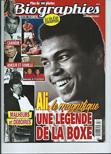 MOHAMED ALI 62 PAGES FRENCH MAG *BIOGRAPHIES* 2016 OVER 160 PHOTOS *COLLECTION*