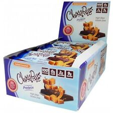 ChocoRite - Salted Caramel High Protein Bars Low Calorie, Low Sugar, 16ct