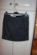 DIANE VON FURSTENBERG NWT $365 Navy Loyala Crystal Mini Skirt Size 2