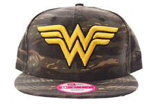 Cappello New Era 9FIFTY Wonder Woman Marvel Snapback Cap Miltary donna