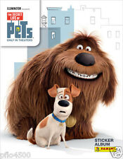 SECRET LIFE OF PETS STICKER COLLECTION ALBUM & ALL THE STICKERS TO COMPLETE