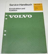 Werkstatthandbuch Volvo 264 Getriebe M 50 M51 Getriebe Technische Informationen