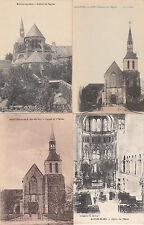 Lot 4 cartes postales anciennes MONTIER-EN-DER église 2