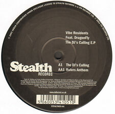 VIBE RESIDENTS - The DJ's Calling E.P - Feat. DragonFly - Stealth