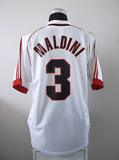 Paolo MALDINI #3 AC Milan Away Football Shirt Jersey 1998-2000 (XL)