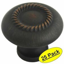 *25 Pack* Cosmas Oil Rubbed Bronze Cabinet Knobs #228ORB