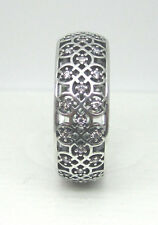 Authentic Pandora #190955CZ-54 Intricate Lattice Ring Size 7 **RETIRED**