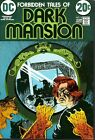 Forbidden Tales of Dark Mansion 8 APPROVAL COVER MIKE KALUTA SELF PORTRAIT 1972