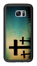 Crosses Sihlouette For Samsung Galaxy S7 G930 Case Cover by Atomic Market