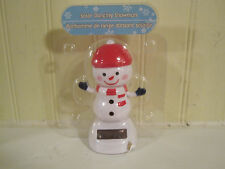 Case of 48 Solar Dancing snowman new in package Christmas holiday