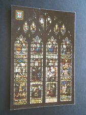 ST MARGARET'S CHURCH WESTMINSTER MILTON WINDOW POSTCARD