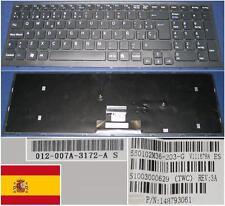 Clavier Qwerty Espagnol SONY VAIO VPC-EB V111678A 550102M36-203-G 148793061 Noir