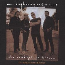 The Highwaymen, The Road Goes On Forever [CD/DVD Combo], Excellent Original reco
