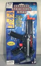 MP5 COMMANDO STRIKE FORCE MACHINE GUN toy play rifle with SOUND prop kids NEW