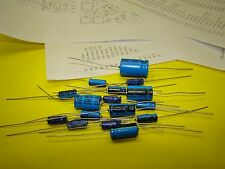 DYNACO FM-5 AF-6 PC-26 AXIAL ELECTROLYTIC CAPACITOR REBUILD KIT