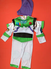 Disney Toy Story Buzz Lightyear Complete Costume Helmet age 7/8 20th Anniversary