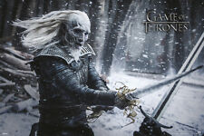 GAME OF THRONES WHITE WALKER 24x36 poster HBO TV SEASON 6