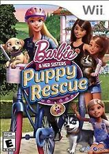 BARBIE AND HER SISTERS: PUPPY RESCUE WII ADVENTURE NEW VIDEO GAME