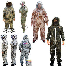 Beekeeping Beekeeper Bee Suit Animal Handling Pest Control Fence Veil FREE Case