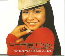 CHRISTINA MILIAN When You Look EDIT& Am to Pm MIXES & VIDEO CD single USA Seller