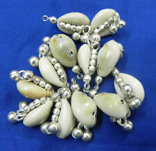 12 PCS DECORETED COWRIES KUCHI TRIBAL BELLY DANCE BELT NECKLACE ETHNIC GYPSY ATS