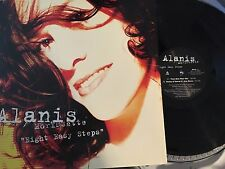 "Alanis Morissette 12"" Eight Easy Steps w/ Picture Sleeve rare 4 mix vinyl VG+"