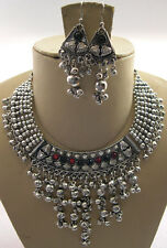 Banjara Rabari Necklace Vintage Style JEWELRY Necklace Earring Belly dance new
