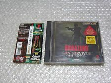 BIOHAZARD GUN SURVIVER Japan import Used PlayStation Free Shipping