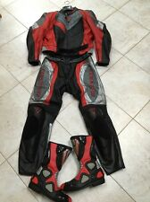 Motorcycle Dainese Racing Suite w/Gaerne Boots