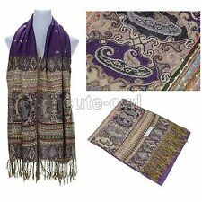 FASHION  Cashmere Silk Scarves Wool Shawl Wrap Long Scarf