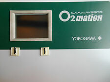 Yokogawa O2mation Oxygen Analyzer Control Unit AV550G-B-A8-E-1-E EXAxt