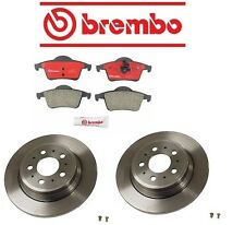 Volvo S80 2004-2006 L5 2.5L Brembo Rear Left Right Brake Kit w/ Rotors and Pads