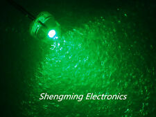 1000PCS 5mm Straw Hat LED Green Light Colour LED super bright Diffused