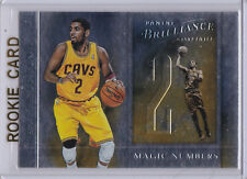 KYRIE IRVING ROOKIE CARD Cleveland Cavs RC Basketball MAGIC NUMBERS 2012 Foil LE