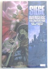 ESL2089. Marvel Comics Siege: Avengers - The Initiative HC Graphic Novel (2010)