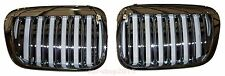 Front Grille Grills Chrome X5 Look for BMW E46 4D Sedan 330i 320i 98-01