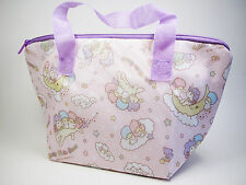 New Bento Lunch Box Insulated Carrying Purse Bag - Sanrio Little Twin Stars