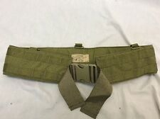 Military MOLLE Eagle Industries Padded War Belt Khaki Size 36 MLCS SFLCS